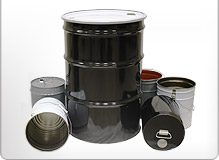 Steel Containers Barrels, and Buckets